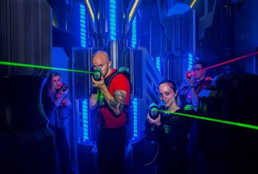 Laser game en team building : une arme de choix