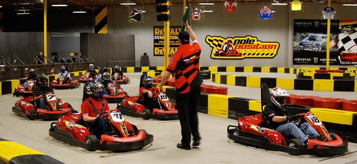 team building circuit karting