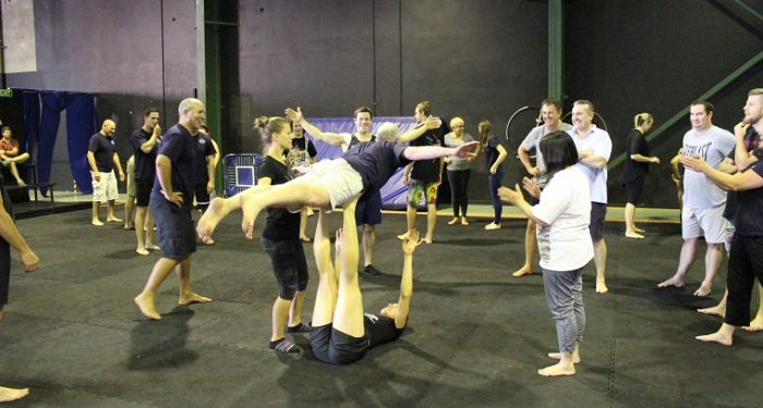Team building atelier cirque